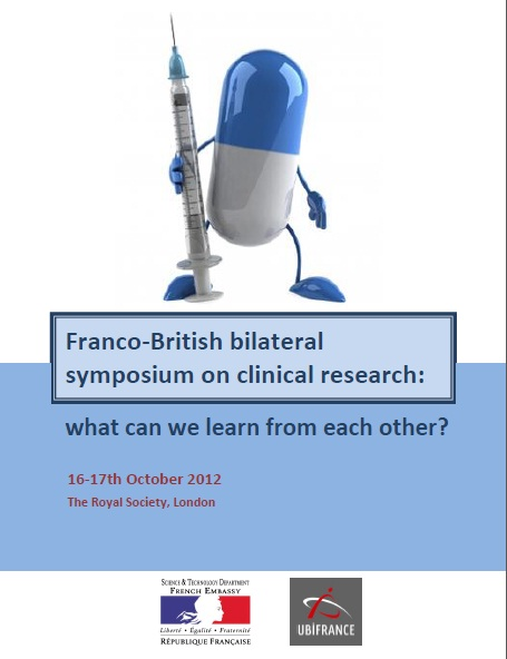 Franco-British bilateral symposium on clinical research