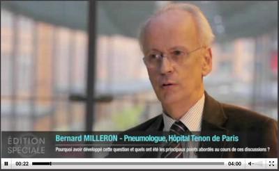 Des experts d'horizons divers réfléchissent ensemble sur les conséquences des données récentes concernant le dépistage du cancer bronchopulmonaire (B. Milleron)