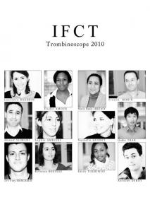 Trombinoscope 2010 Unité de Recherche Clinique IFCT