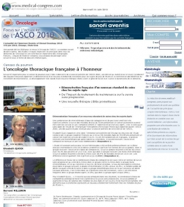 Medical Congress - ASCO 2010
