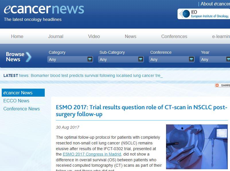 e-cancer news