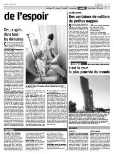 Le Parisien - Lundi 7 juin 2010
